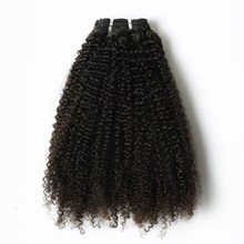 VV New Fashion Black Women Natural Color Unprocessed Remy Hair Extension Malaysian Virgin Afro Kinky Human Hair