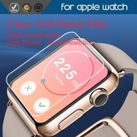 100% Full Screen Cover !! TPU Material High Clear Watch screen protector for Apple Watch