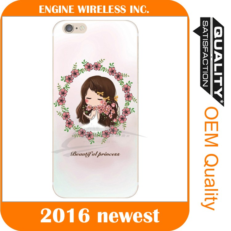 dimond flower phone case,for alcatel one touch idol 3 bumper case
