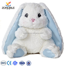 High quality easter gift plush easter bunny custom long ear plush stuffed rabbit toy