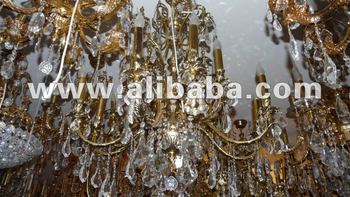 french style chandelier's
