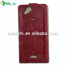 Hot sale leather cover case for sony ericsson xperia arc s lt18i x12