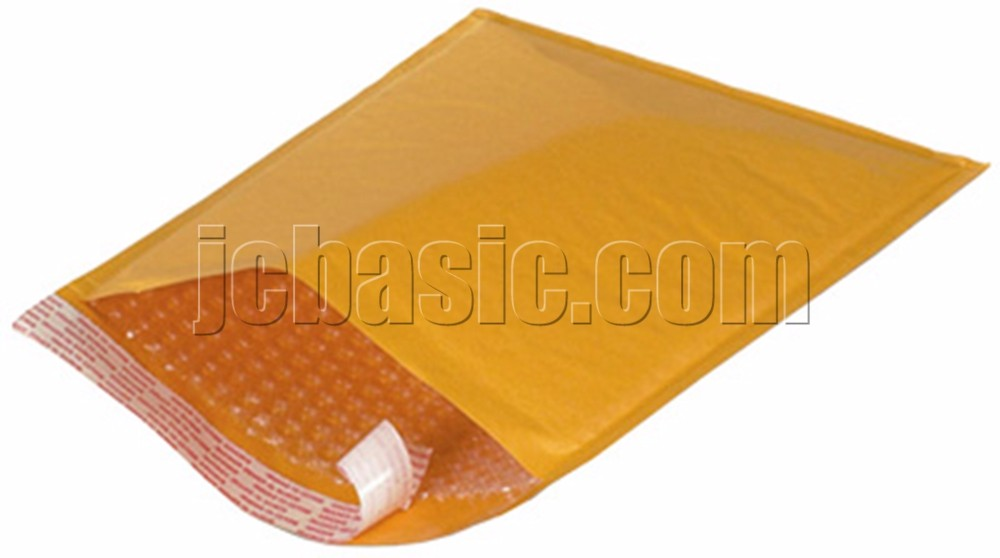 Wholesale custom shipping envelope/ padded Kraft bubble mailers/custom Kraft bubble mailers