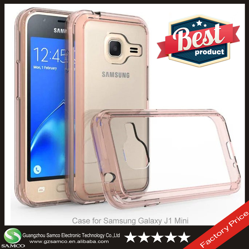 Samco Premium Crystal Clear Protective Cellphone Cover for Samsung Galaxy J1 Mini