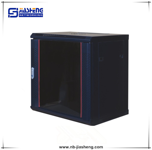 4u~47u 19'' standard wall mounted and floor standing network cabinet 15u for telecommunication