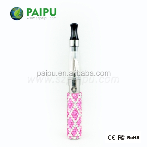 PAIPU 2014 hot selling e cigarette crystal diamond EGO G battery