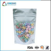 China Supplier plastic candy bags stand up aluminum foil candy bags