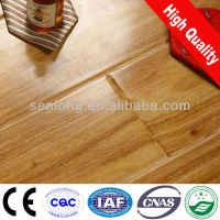 Walnut Wood Grain Finish HDF Laminated Flooring(SLD065)