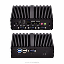 QOTOM-Q410P Latest New computer hardware 3215U 2 ethernet 4 RS232 industrial Mini PC