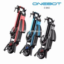 Aero metal unique design onebot handicapped bicycle with battery 3.7v