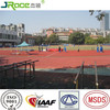 widely used for school synthetic rubber running track material