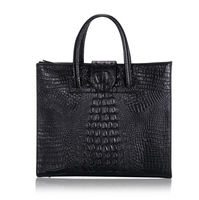 Factory sale direct purses china hanbndbag and purses luxury crocodile skin pattern handbag bags