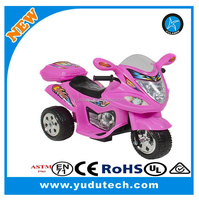 Best Choice Products Kids Ride On Motorcycle 6V Toy Battery Powered Electric 3 Wheel Power Bicyle,
