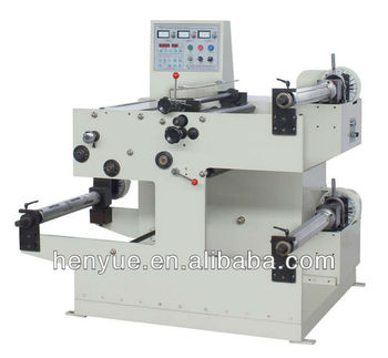 FQ-550 label slitting and rewinding machine/adhesive label slitter/sticker slitter rewinder