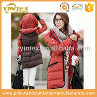 Lightweight Warm Winter Woman Goose Down Jacket