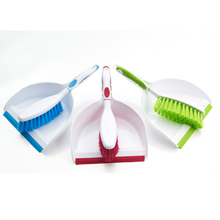 New Style Portable Durable Dust Pan And Brush , Cleaning Plastic Broom Dustpan