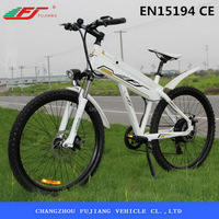FUJIANG Hot selling electric beach cruiser bicycle, chopper bicycle
