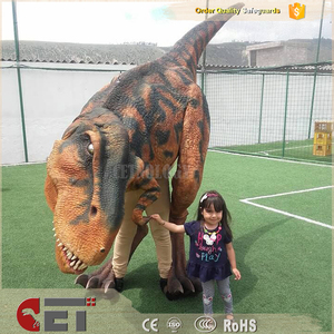 CET-H1298 dinosaur suit walking with Theme Park Realistic Dino suit dino costume on sale