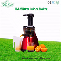 Stainless Steel Wide Feed Tube Electric Fruit Juicer/juice machine used commercial cold press juicer HJ-MN019