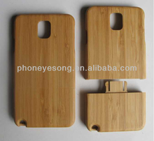 Wooden Carbonized Bamboo Case for Samsung Galaxy Note 3