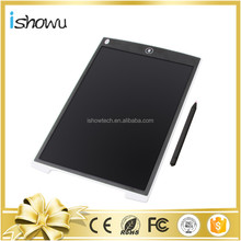 Electronic Writing Pad Reusable LCD Writing Tablet +Stylus+Lanyard Hole-Can Be Set Up(12 Inch)