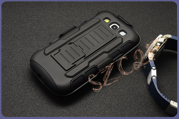 Factory Wholesale Armored breakproof Phone Cover Case for samsung s3,s4, s5 Robot Mobile Cell Case