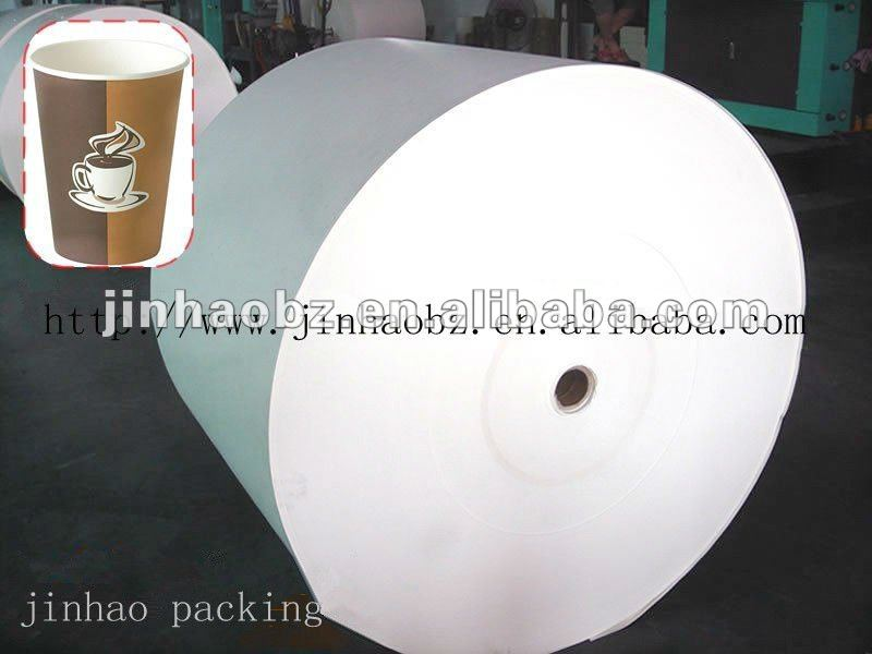 AA grade pe coated cup paper in roll
