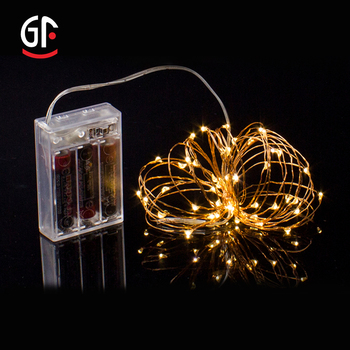Wholesale Party Supplies 3AA Battery Operated Led String Fairy Lights