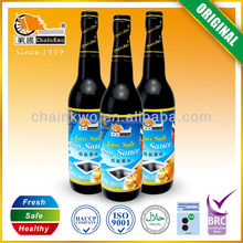 premium low salt light soy sauce glass bottle 150ml