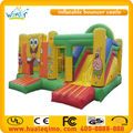 High quality new commercial mini inflatable bouncer slide combo/inflatable playground for kids