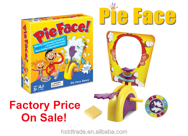 Factory Price Family Game Hasbro Pie Face Game