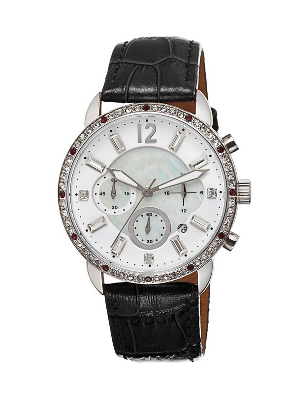 2015 Hot Sale New Arrival Cheap Lady Chronograph Watch
