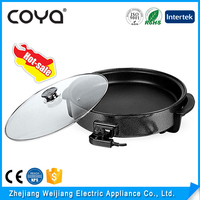 Multifunction Non Stick Coating Electric Skillet