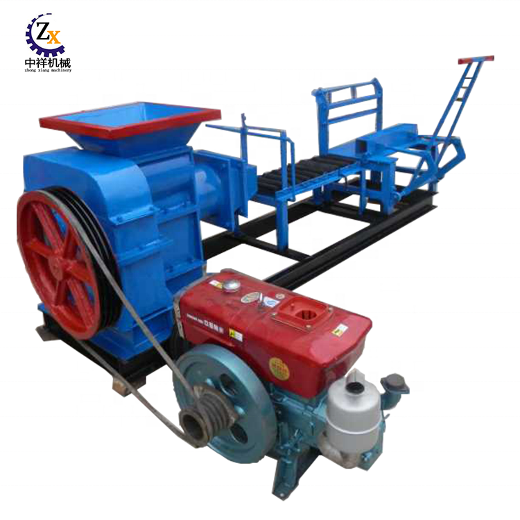 China small red earth mud soil clay brick making machine for sale