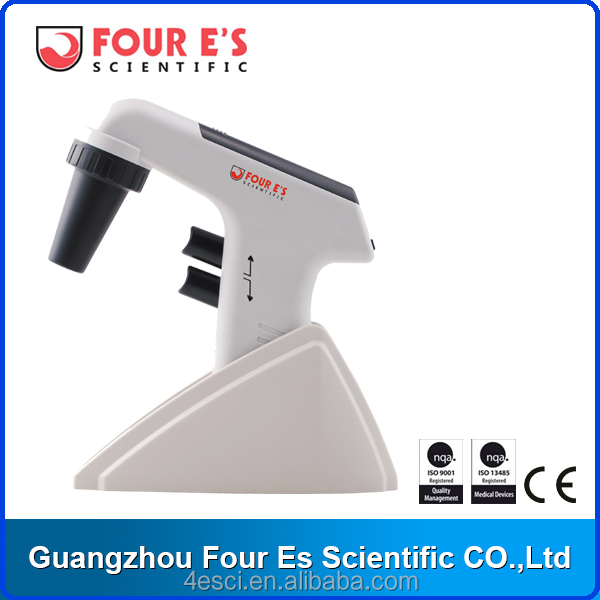 Powerful LCD Digital Laboratory Liquid Pipette Filler