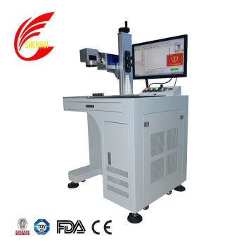200*200mm 300*300mm 20w 30w 50w glavo laser marking machine for metal plastic Jewelry