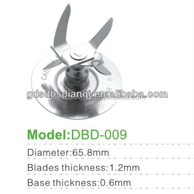 Oster blades blenders spare parts DBD-009 most durable agitatorS