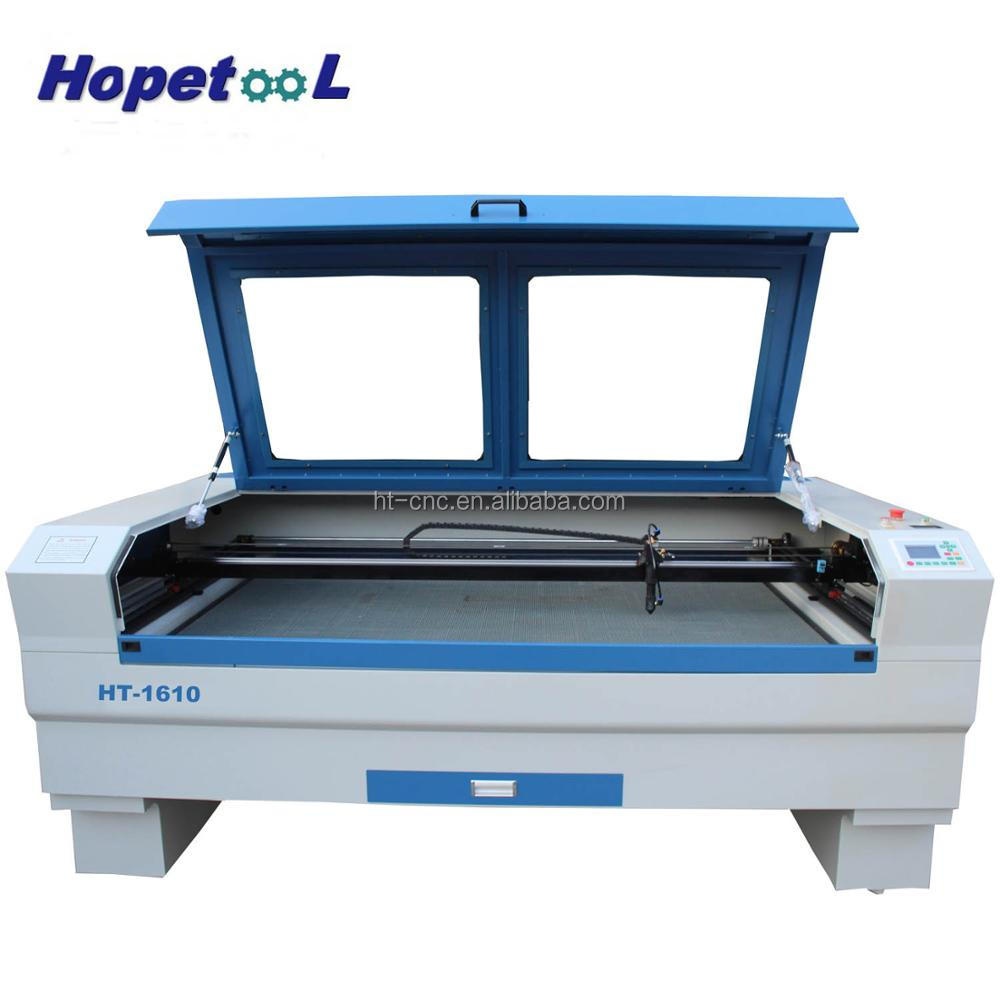Factory supply <strong>o2</strong> laser cutting machine 1600*1000mm size for wood,acylic,fabric