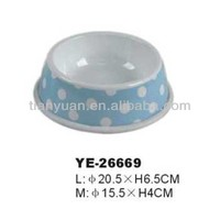 pet travel bowl 2014 new products(YE26669)