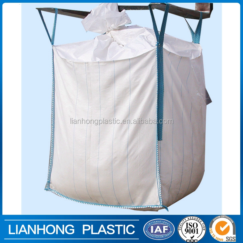 Accept custom order flexible intermediate bulk container for sand,rice,cement, worldwide selling FIBC, high quality jumbo bag