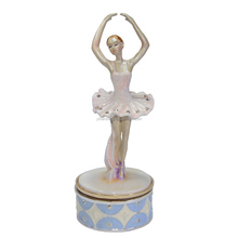 Fashion Design dancing ballerina musical box birthday/Valentine's/Christmas/New year innovative gift for her