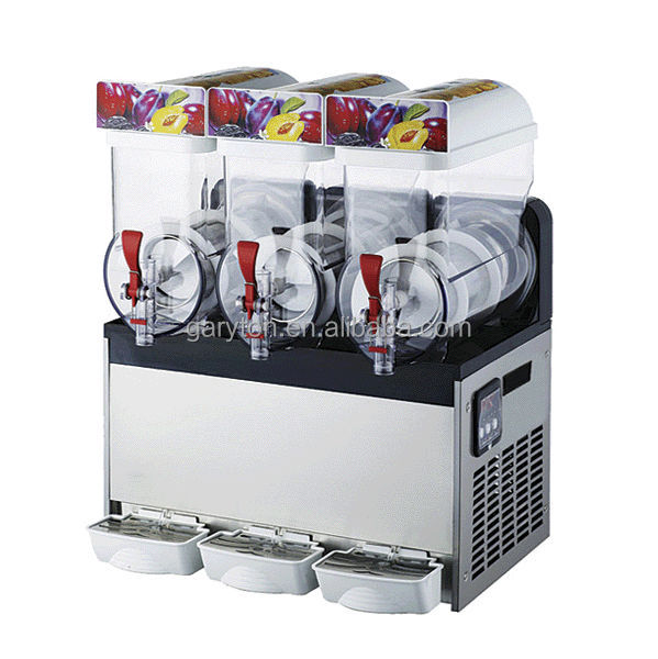 GRT - SM345 New Triple Bowl Margarita Slush Frozen Drink Machine