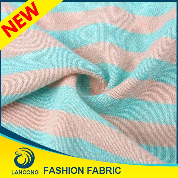 Best selling New Design Elastane terry wool fabric for100% cashmere sweater