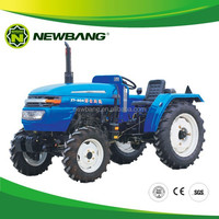 mini 20HP 4 WD/2 WD tractor wheeled with farm machinery XT204