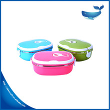 single layer airtight leakproof insulated thermal square stainless steel tiffin carrier lunch box
