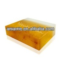 100% Pure&Natural Face Soap with Gold Powder
