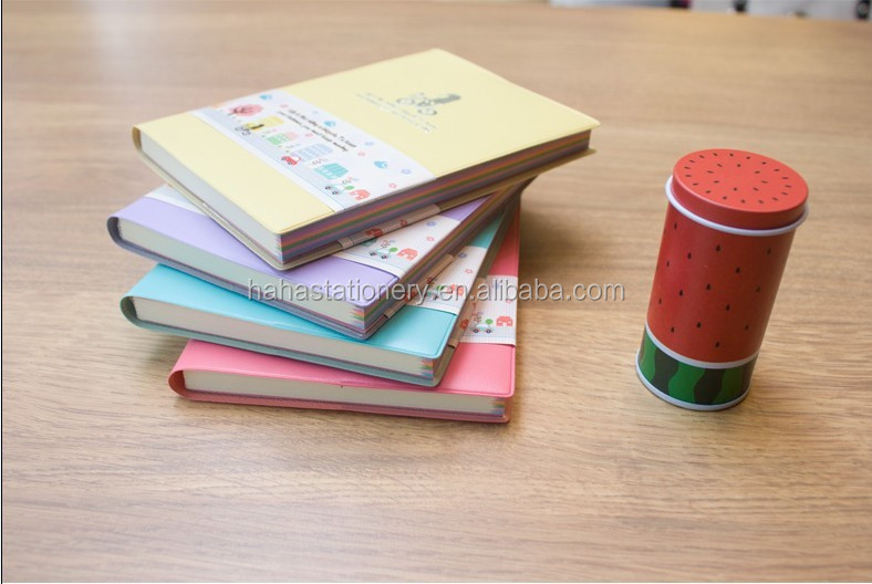 wholesale stationery beautiful hardcover notebook and diary for gift