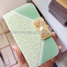 for Samsung Galaxy note2 N7100 Wallet Card Holder Leather Flip Case Cover