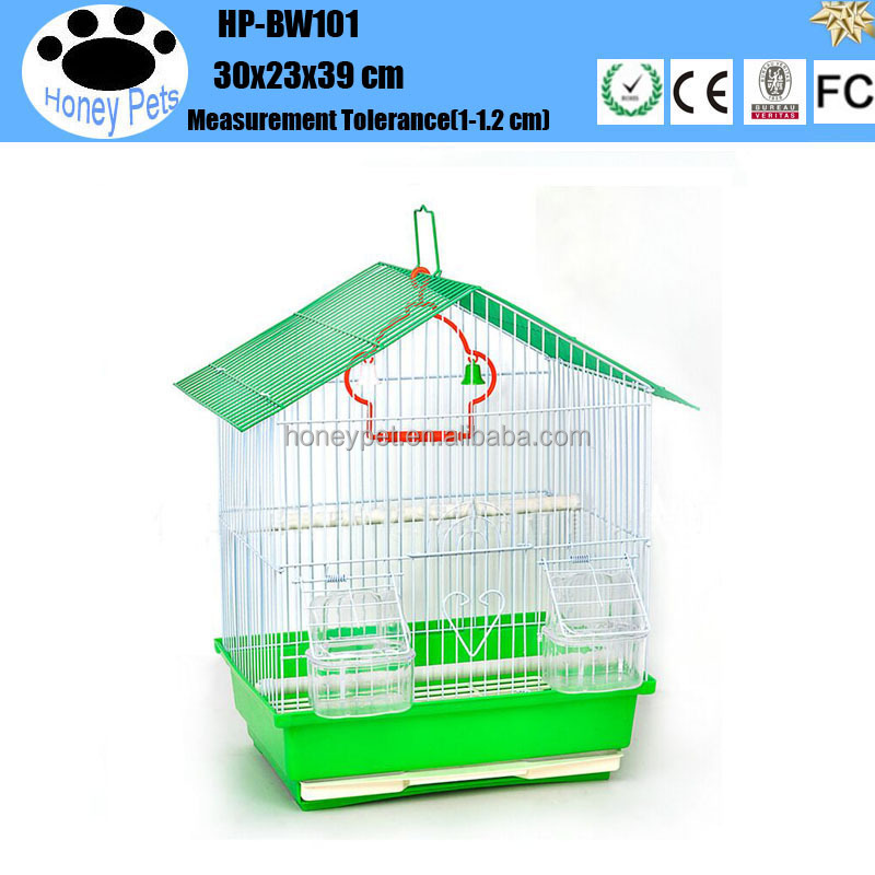 HP-BW101 waterproof cover outdoor wooden metal bird cage
