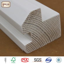 Custom Waterproof Rail And Stile Hot Sales Exterior Out Door Construction Jamb Baseboard Moulding For Corner
